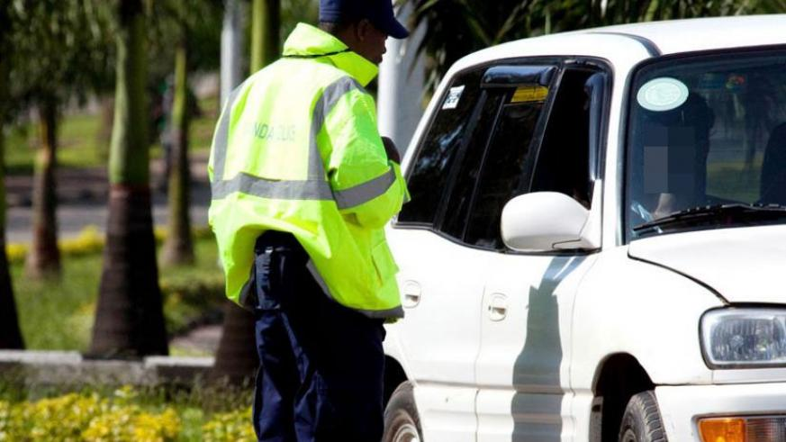 Sometimes road users try to bribe traffic officers.