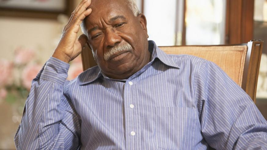 People with dementia have problems thinking and remembering. / Net