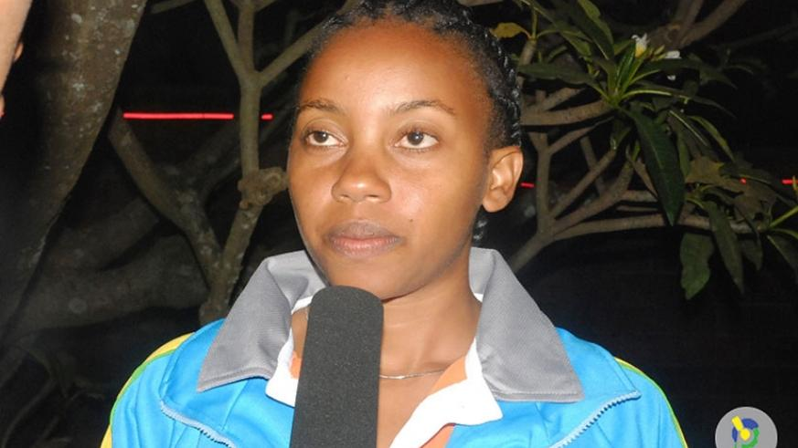 Rwanda Cricket Association General Manager Mary Maina. (Courtesy)