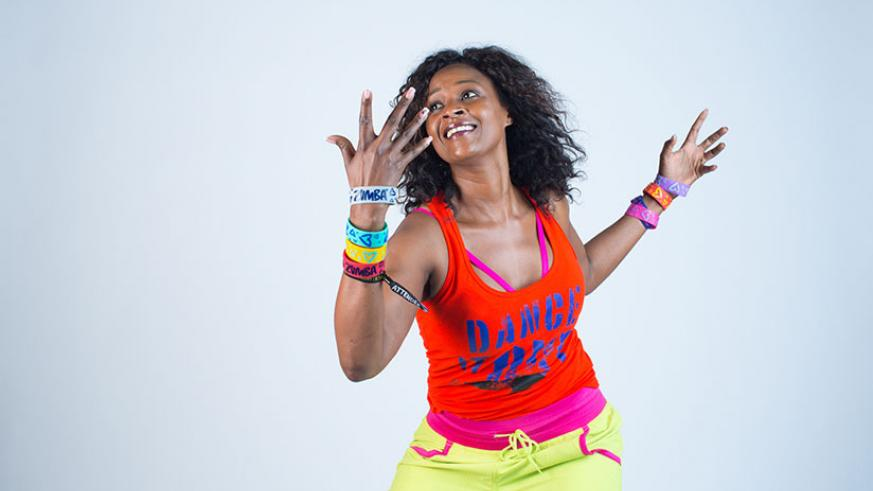 Dianne Schommer is a zumba instructor. (Courtesy photos)