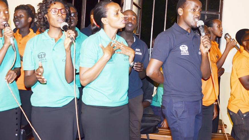 Ambassadors of Christ gospel group uses music to encourage the youth to refrain from taking illicit substances. /Courtesy.