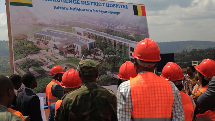 The new facility is expected to cater for more than 300,000 Nyarugenge residents. Sam Ngendahimana.