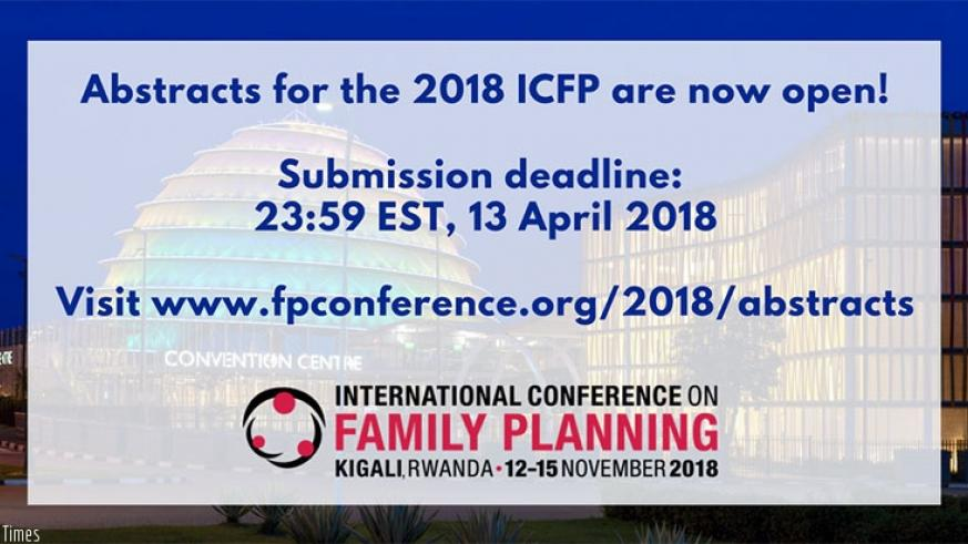 Abstract submissions are now open for the 2018 ICFP. You can submit individual or preformed panel abstracts in English or French.