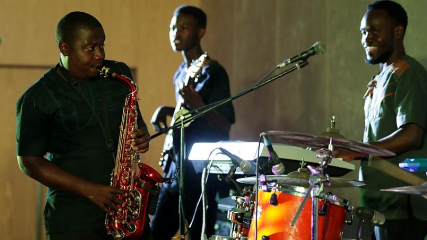 Neptunez delivered a great performance that saw the band win the contest./ Photo by Timothy Kisambira.