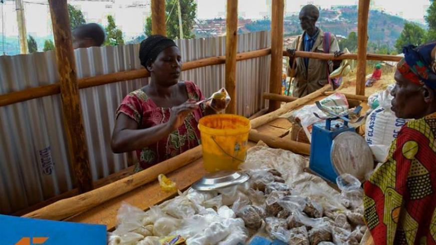 The women access loans to start up small businesses like food stalls and animal farms.  (Courtesy photos)