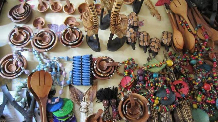 You can visit a crafts shop in town for a souvenir. File.