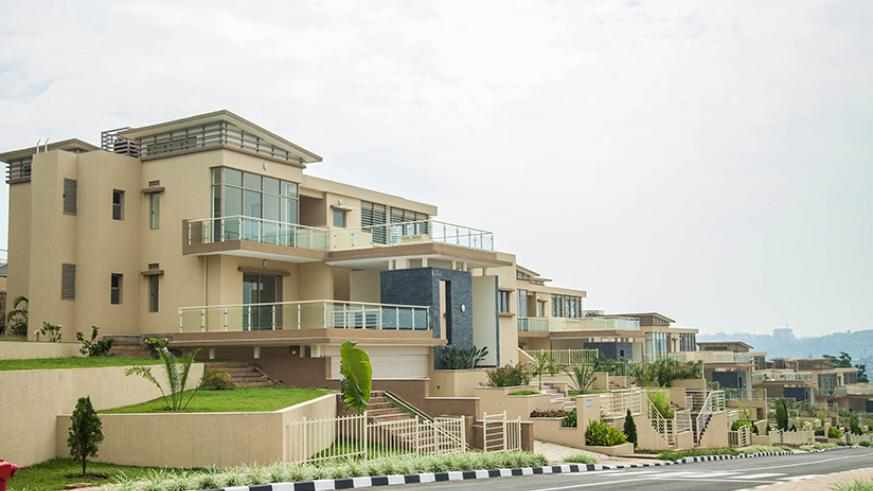 Vision City luxury apartments in Gasabo District. Nadege Imbabazi.