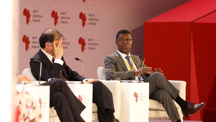 Thierry Zomahoun, the president and founder of NEF, says that adequate infrastructure and technical skills would enable innovators to move fast. Timothy Kisambira