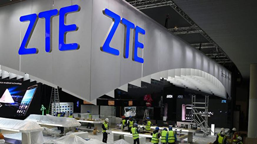 ZTE asked the US Commerce Department to suspend the business ban