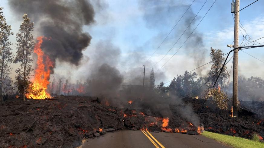 Hawaii volcano eruption destroys 26 houses