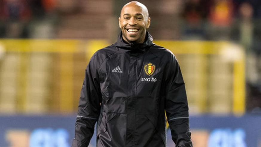 Former France international- Thierry Henry- is a member of the Belgian coaching staff in Russia. Net