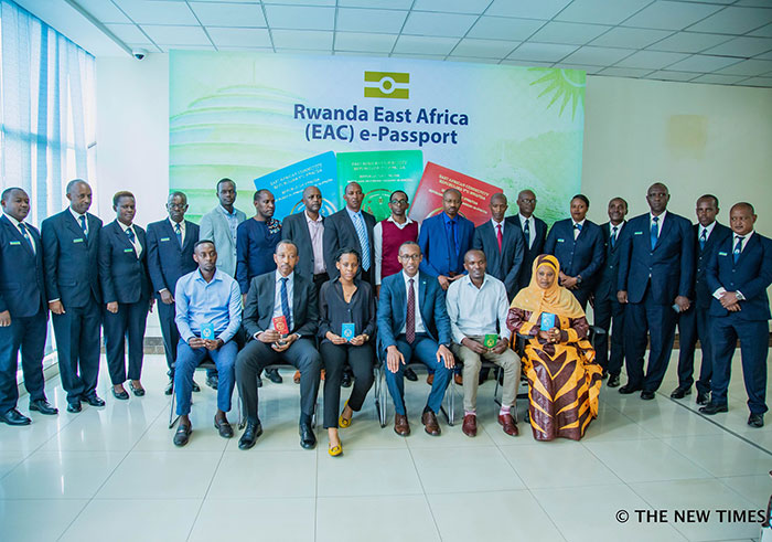 Rwanda begins issuing East African e-passport | The New