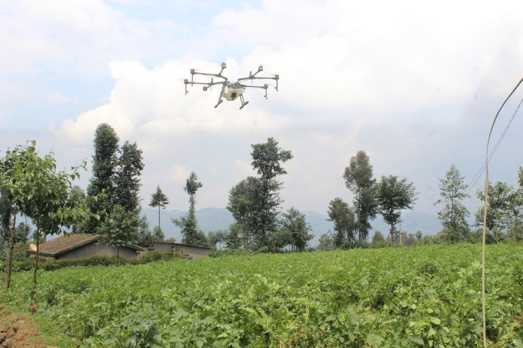 Drones offering high-tech help to smallholder farmers | The New
