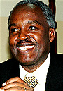 Minister of Foreign Affairs, Dr Charles Murigande