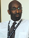 Manzi Kayihura, the Director General of Rwandair Express