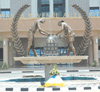 Rwanda Revenue Authority coat of arms at the head office in Kimihurura. (File photo)