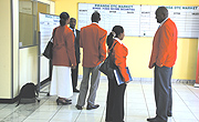 Stockbrokers at Rwanda Over The Counter Market.