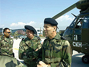 Operation Turquoise, a French military intervention in June 1994