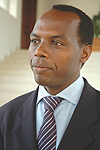 Francis Gatare, the Director General of Riepa.