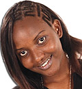 Grace Magambo a.k.a Illah of Flash FM flashes a smile.