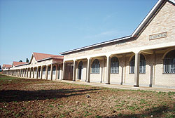 Some of the structures of the Save Campus of the Catholic University in the Southern Province (Photo: P. Ntambara)