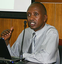 DIRECTOR GENERAL; Ignatius Kabagambe (File photo)