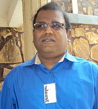 Jawahar Manickam, the director of ICT at the NUR (Photo; P. Ntambara)