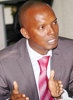 RECO-RWASCO Managing Director Yves Muyange (File Photo)