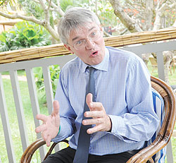 HON. ANDREW MITCHELL,   the current UK Secretary of State for Overseas Development. / File