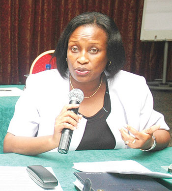 Deputy Secretary General (Political Federation) Beatrice Kiraso