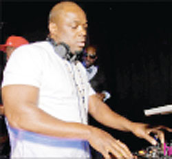 DJ Bego mans the turntables in a past performance. (Courtesy photos).