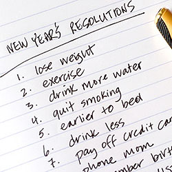 Enjoy life and don't beat yourself over broken New Year Resolutions. (Net Photo)
