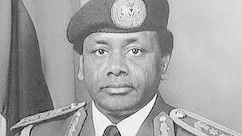The late Sani Abacha was accused of stealing billions of dollars during his five years in power. Net photo