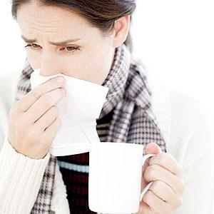 Sneeze into a hanky and the crook of your arm to avoid transferring your germs to others. Net Photo