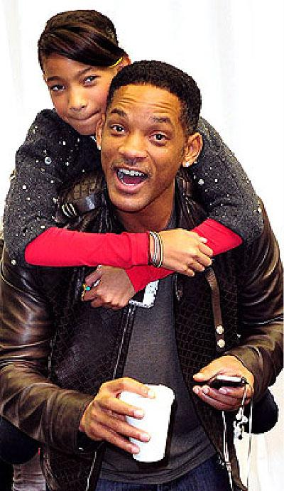 Willow and Will Smith. Net photo.