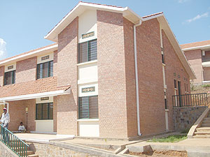 Gacuriro, one of the modern estates in Kigali. The New Times / File.