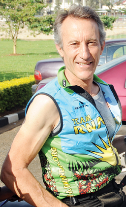 American coach Jonathn Boyer (above) has penciled a top 10 in the forthcoming Tour of Roi. The New Times/File.