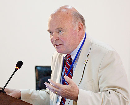 Dr Gregory H. Staton, professor in Genocide Studies and Prevention, George Mason University.