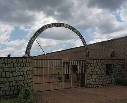 <p>Muhanga Prison, where Ruzigana and Nizeyumukiza are incarcerated . The New Times/Felly Kimenyi.</p>