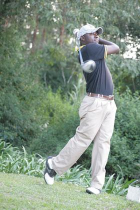 Jean Baptiste Hakizimana is determined to win the Burundi Open which starts today in Bujumbura. The New Times / File.