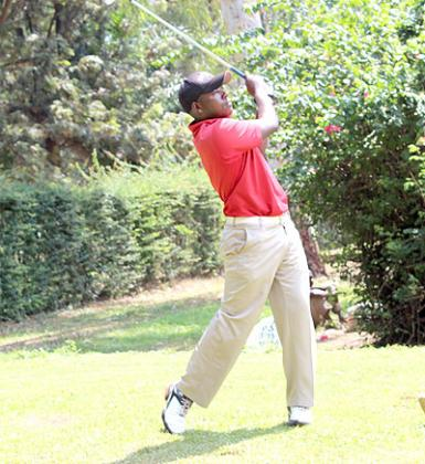 Jean Baptiste Hakizimana produced one of his best performances at the Bujumbura course. The New Times / H. Nkuutu.
