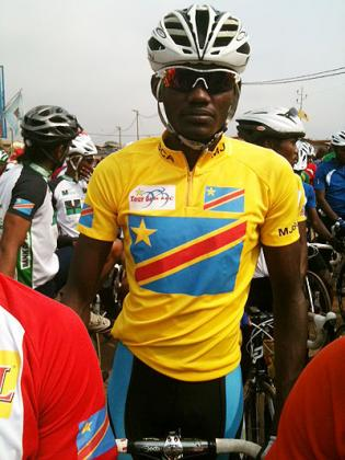 Emmanuel Rudahunga wore the Yellow Jersey going to Thursday's stage 2. The New Times / Courtesy.