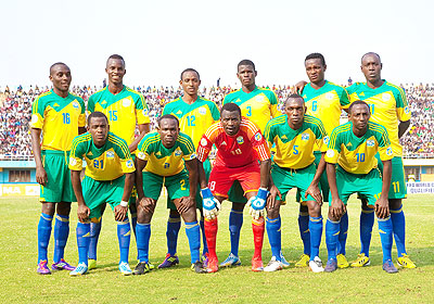 Rwanda's negligible rise in the lastest rankings can be attributed to Amavubi Stars' loss to Algeria last month in the 2014 World Cup qualifier. The New Times / T. Kisambira.