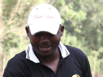 Hakizimana is determined to make an impression on his debut in the Asian Golf Tour. Sunday Sport/File