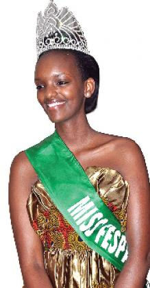 Miss RwandaMiss FESPAM 2013 was given a spectacular homecoming party.