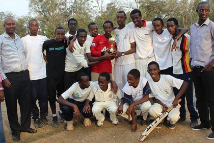 Kagarama secondary school retained the annual Schools Cricket week.