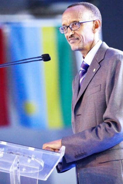President Kagame addresses participants at Rwanda Day Canada - Toronto on Saturday.