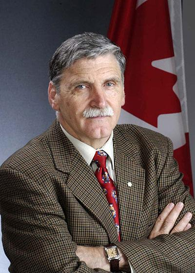 Canadian senator, Romeo Dallaire. Sunday Times/Courtesy