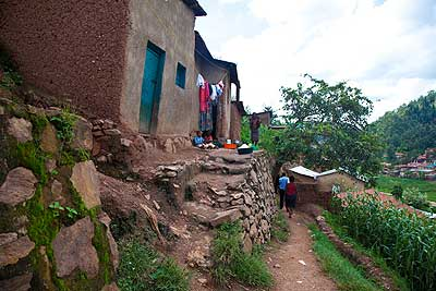 A slum in the City of Kigali.  The New Times/ T. Kisambira