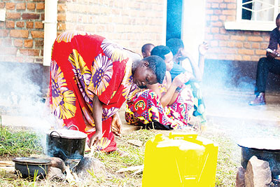 Evictees from Tanzania await to be resettled in Mageragere, Nyarugenge District. The government  wants to ensure the provision of basic necessities to all vulnerable groups. The New Times/ T. Kisambira.